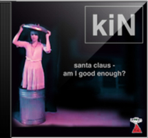 front cover - Kin - Santa Claus - Am I Good Enough? - Single