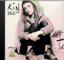 front cover - Kin - Girl At the Station - Single