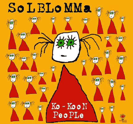 front cover - Solblomma - Ko-KooN People - Single