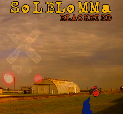 front cover - Solblomma - Blackbird - Single