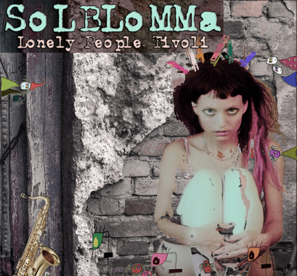 front cover - Solblomma - Lonely People Tivoli - Album