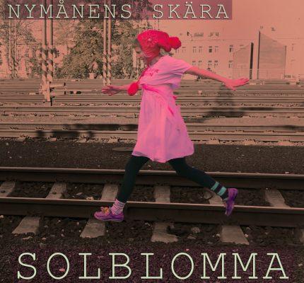 front cover - Solblomma - Nymånens skära - EP