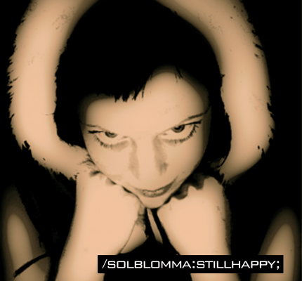 front cover - Solblomma - Still Happy - Single