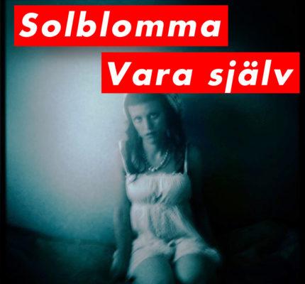 front cover - Solblomma - Vara själv - Single