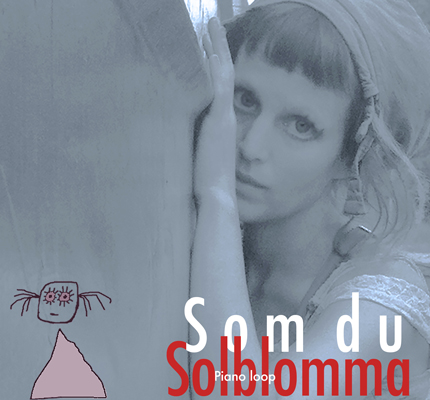 front cover - Solblomma - Som du (Piano loop) - Single